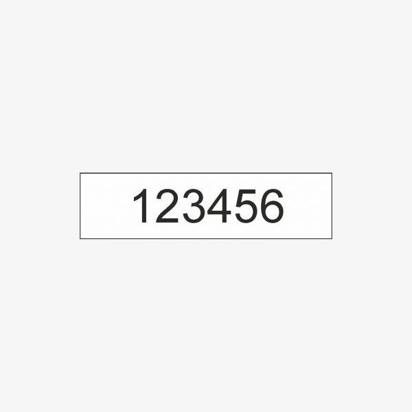 mini numerator