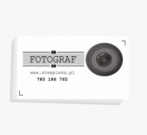 wizytówki dla fotografa 1