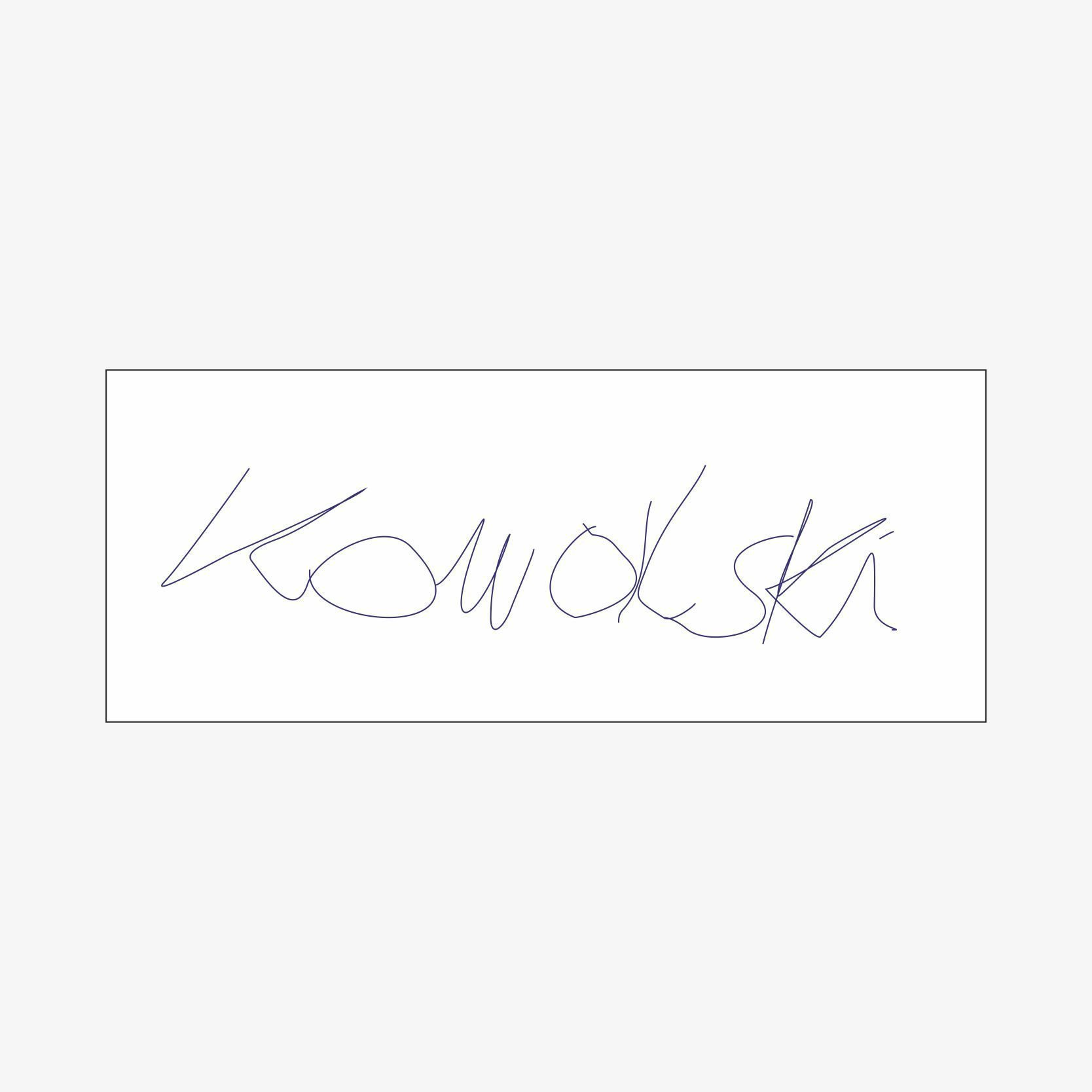 Pieczątki z podpisem