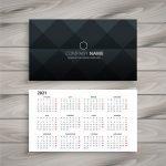 kalendarzyki listkowe stempleks